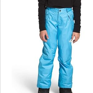 Northface snow ski pants for girls size 7/8